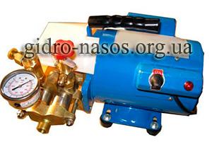 Электрический насос для опрессовки котлов, резервуаров, кондиционеров