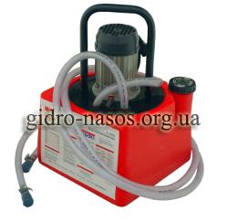 Промывочный насос для удаление известковых отложений